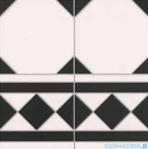 Realonda Oxford Negro Cenefa płytka podłogowa 33x33