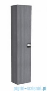 Koło Twins szafka wisząca boczna wysoka z drzwiami 35x180x27,5 cm srebrny grafit 88461