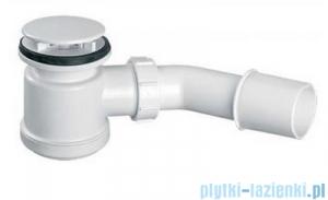 McAlpine Syfon brodzikowy 50'' pokrywa kolorze biały HC26-MWH