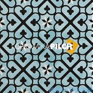 Pilch Amelia 3 dekor podłogowy 33x33