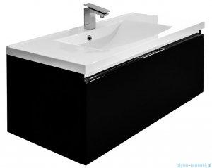 Antado Cantare szafka z umywalką 100x48x40 czarny połysk FSM-342/10GT-48/48 + UMML-1000C