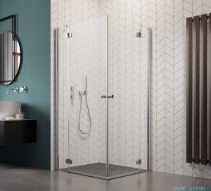 Radaway Torrenta Kdd Kabina prysznicowa 100x80 szkło przejrzyste + brodzik Doros D + syfon 32273-01-01NL