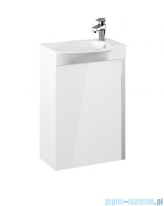 Elita Summer Set szafka z umywalką komplet 45x68x25cm biały połysk 167360