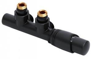 Excellent Volaro zestaw zintegrowany termostatyczny 50mm czarny prawy GREX.VO50P.BL