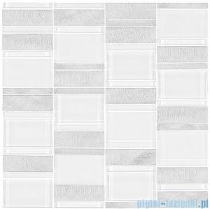 Dunin Metallic Allumi Piano White 73 mozaika metalowa 29,3x29,8cm
