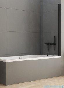 New Trendy New Soleo Black parawan nawannowy 90x140 cm przejrzyste P-0040