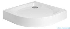 Polimat Nowy Styl 1 brodzik półokrągły kompaktowy 90x90x5 00616