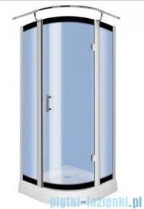 Novoterm Kerra Neptun kabina prysznicowa 90x90 cm szkło niebieskie