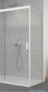 SanSwiss Cadura White Line ścianka boczna Cast 120x200cm profile biały mat CAST1200907