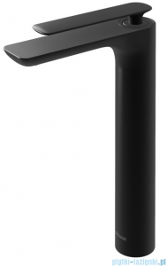 Kohlman Experience black bateria umywalkowa wysoka czarny mat QB170EB