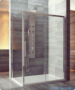 SanSwiss Pur Light S PLST Ścianka boczna 80cm profil połysk szkło przejrzyste PLST0805007
