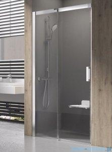 Ravak Matrix MSD2 drzwi prysznicowe 110cm lewe białe transparent 0WLD0100Z1