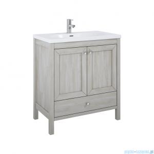 Elita Santos Oak szafka z umywalką 80x85x45cm White Wash 166383/145720