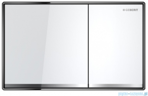 Geberit Sigma60 Przycisk uruchamiający przedni szkło białe 115.640.SI.1