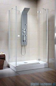Radaway Kabina prysznicowa Fuenta KDJ 90x80 prawa szkło przejrzyste 381049-01R