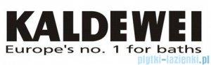 Kaldewei Comfort-Level Plus model 4017 z emaliowaną pokrywą odpływu i przelewem chromowym 687670040001
