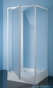 Sanplast kabina przyścienna kwadratowa KT/DJ-c-80 80x80x185 cm polistyren 600-013-1021-01-520