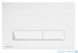 Excellent Platto przycisk spłukujący 2-funkcyjny biały INEX.PL230.150.WH
