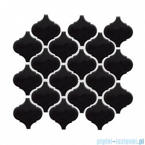 Dunin Mini Arabesco black mozaika ścienna 27,6x25cm