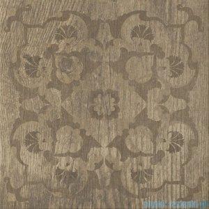 Paradyż House brown D dekor podłogowy 45x45