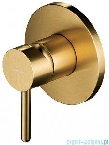 Omnires Y bateria natryskowa-wannowa podtynkowa złoto szczotkowane Y1245GLB