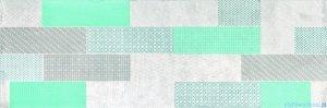Ceramika Color Roca Grey Geo dekor ścienny 25x75
