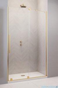Radaway Furo Gold DWJ drzwi prysznicowe 100cm prawe szkło przejrzyste 10107522-09-01R/10110480-01-01