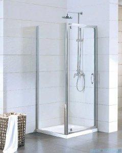 Kermi Acca Ściana boczna, szkło przezroczyste, profile srebrne 70x190cm ACTWD07019VPK