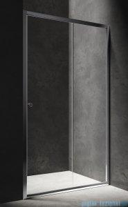 Omnires Bronx drzwi prysznicowe 120x185cm szkło przezroczyste S2050120CRTR