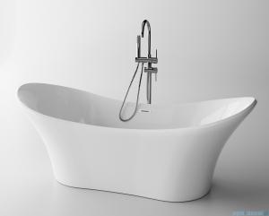 The North Bath Thor wanna wolnostojąca 180x80cm + Syfon Klik-klak 6518-1801