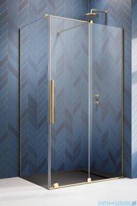 Radaway Furo Gold  Kdj kabina 90x70cm prawa szkło przejrzyste 10104472-09-01R/10110430-01-01/10113070-01-01