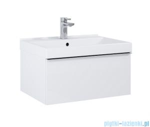 Elita Look szafka z umywalką 60x28x45cm biały połysk 167075/145830
