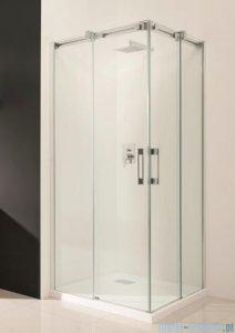 Radaway Espera KDD Kabina prysznicowa 80x120 szkło przejrzyste + brodzik Argos D + syfon 380150-01L/380153-01R/4AD812-01