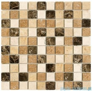 Dunin mozaika kamienna 30x30 travertine mix 32