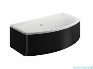 Polimat Elegance obudowa wanny boczna czarna 100cm 00873