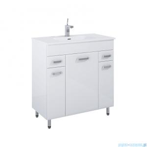 Elita Amigo Set szafka z umywalką komplet 81x84x40cm biały połysk 166467