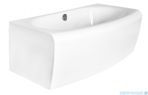 Besco Telimena 180x85cm wanna prostokątna + obudowa + syfon