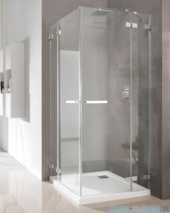 Radaway Euphoria KDD Kabina prysznicowa 90x80 szkło przejrzyste 383060-01L/383061-01R