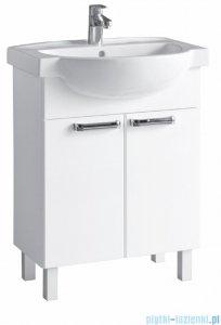 Koło Freja zestaw meblowy 65 cm biały połysk L79001