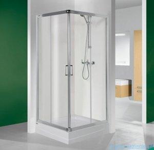 Sanplast kabina narożna kwadratowa 80x80x190 cm KN/TX4-80 szkło przejrzyste 600-271-0020-38-400