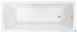 Besco Optima Premium 160x70cm Wanna prostokątna z uchwytami i zagłówkiem #WAO-160-PKP