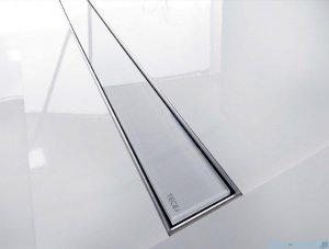 Tece Ruszt prosty ze szkła Tecedrainline 150cm szkło czarne 6.015.92