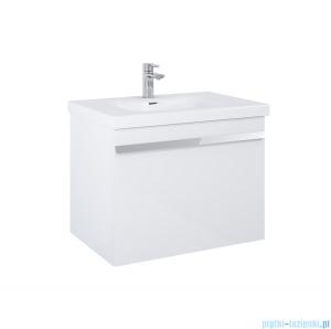 Elita Moody szafka z umywalką 71x54x48cm biały połysk 167684/145370
