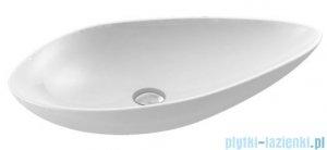 New Trendy Umywalka nablatowa biała 74x38,5 cm U-0070