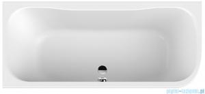 Sanplast Luxo wanna asymetryczna WAL-kpl/LUXO 80x180 cm lewa 610-370-0220-01-000