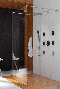 Clusi Hera kabina Walk-in 140x200 cm przejrzyste 3329HER140