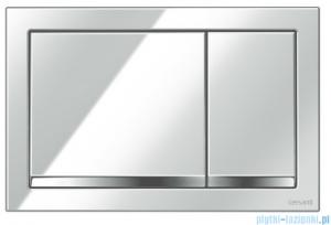 Cersanit Enter przycisk spłukujący 2-funkcyjny chrom K97-366