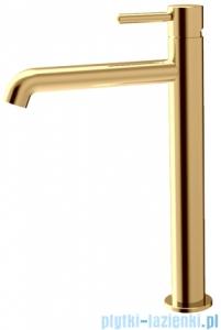 Omnires Y Bateria umywalkowa wysoka złota Y1212GL