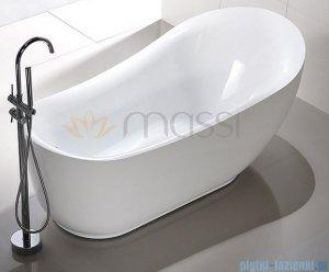 Massi Longe 180 wanna wolnostojąca 180x89 cm biała MSWA512180