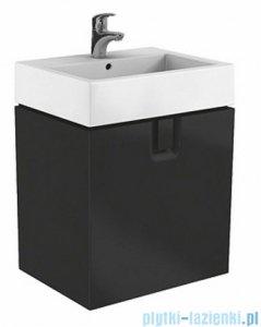 Koło Twins szafka podumywalkowa wisząca z szufladą 60x57x46 cm czarny mat 89500